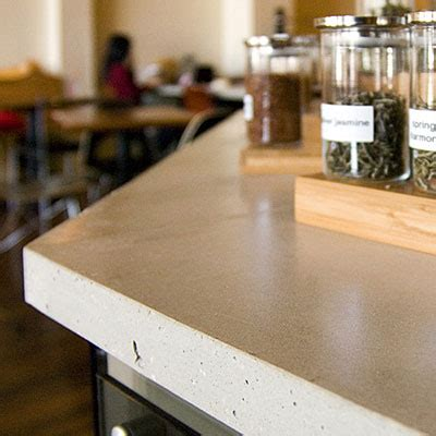 greener alternatives  concrete countertops ecofriend