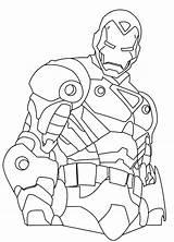 War Machine Coloring Getdrawings sketch template