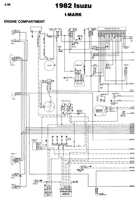 Wiring Diagram Isuzu D Max by Repair Manuals Isuzu I 1982 Wiring Diagrams