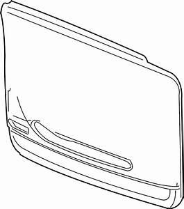 Gmc Yukon Xl 1500 Door Interior Trim Panel  2000