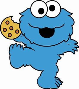 Cookie Monster Baby Clipart - Clipart Suggest