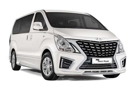 Hyundai Starex Backgrounds hyundai grand starex royale for malaysia gets a facelift