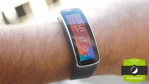 test samsung gear fit notre avis complet montres With robe fourreau combiné avec bracelet avec capteur cardiaque