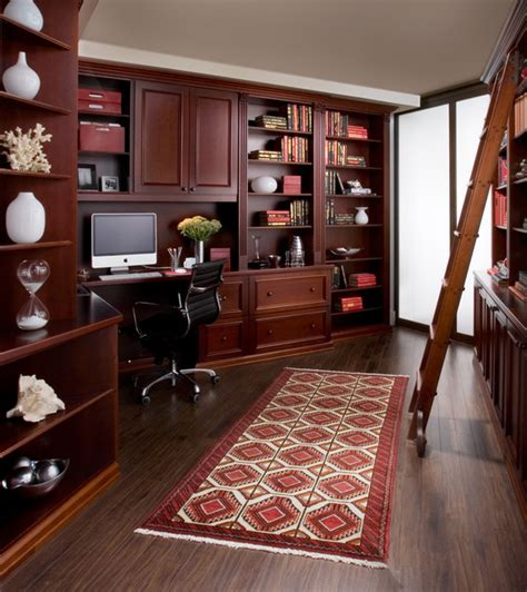 bathroom cabinets and vanities ideas home office in cherry wood traditional home office
