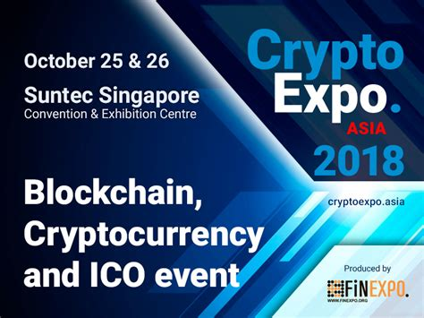 all of the cryptocurrency world will gather in one place in singapore autumn 2018 newswire