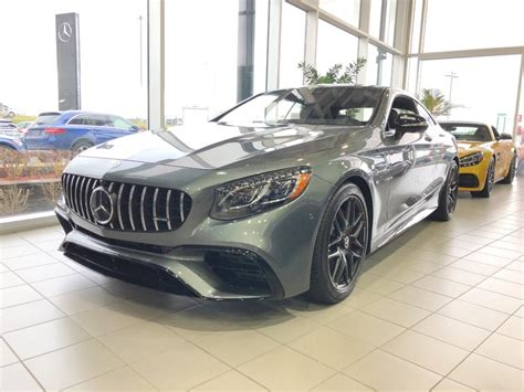 Mercedes benz s 63 amg vehicles for sale near san jose ca. New 2019 Mercedes-Benz S63 AMG ***S63 AMG COUPE***PEINTURE GRAPHITE*** RARE *** for sale ...