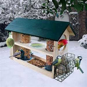 Vogelfutterhaus Selber Bauen Mit Kindern : vogelfutterhaus deluxe 8 in 1 von g rtner p tschke ~ Articles-book.com Haus und Dekorationen