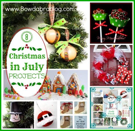 christmas in july projects diy christmas crafts party