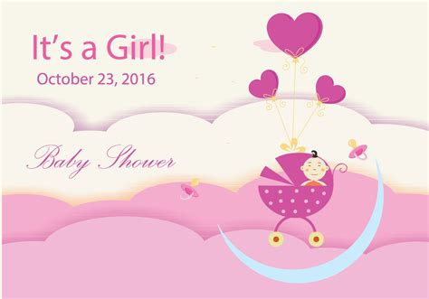 Baby Shower by Baby Shower Design Free Vector Stock