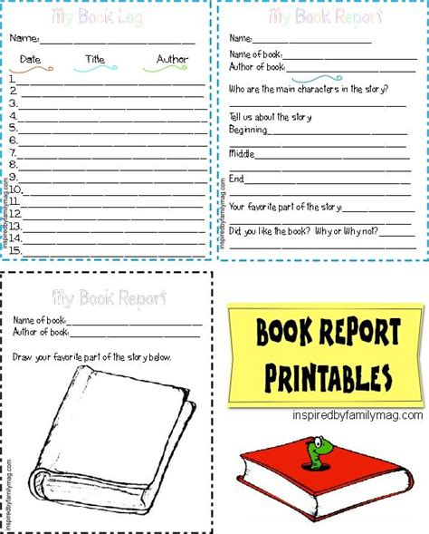 Book Reports Elementary by Printable Book Report Forms Elementary Book Inspired