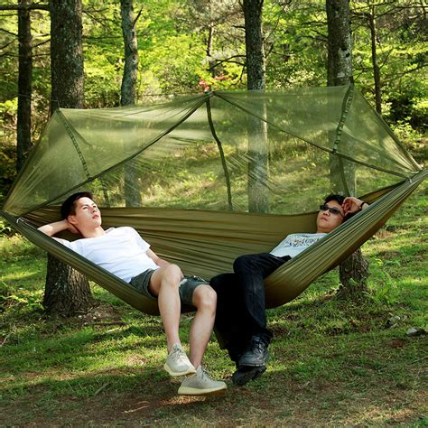 Relaxing On Hammock by 1 2 Person Outdoor Cing Hammock Hanging Relaxing