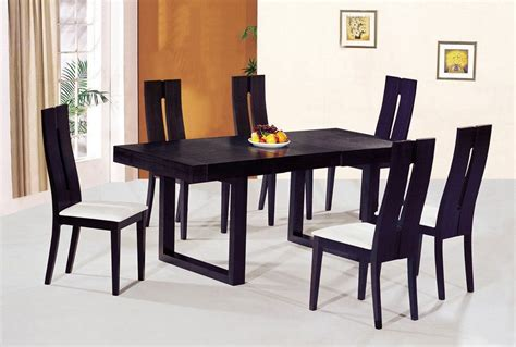 wooden dining table and chairs marceladick