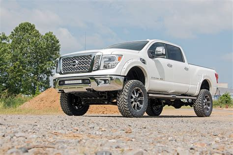 Nissan Titan Suspension Lift by 6in Suspension Lift Kit For 16 17 4wd Nissan Titan Xd