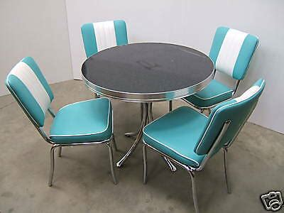 american furniture warehouse kitchen tables and chairs retro furniture 50s american diner kitchen table chair ebay