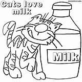 Milk Coloring Pages Milky Way Colorings Cats Printable Getcolorings Getdrawings sketch template