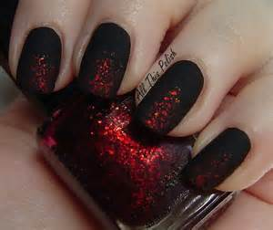 Red and black nail designs ideastand for short nails