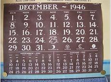 1946 Calendar Hill Clark Francis, Limited Garrison