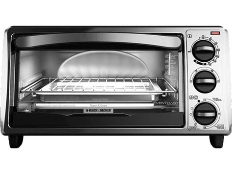 Black & Decker To1313sbd 4-slice Toaster Oven, Silver