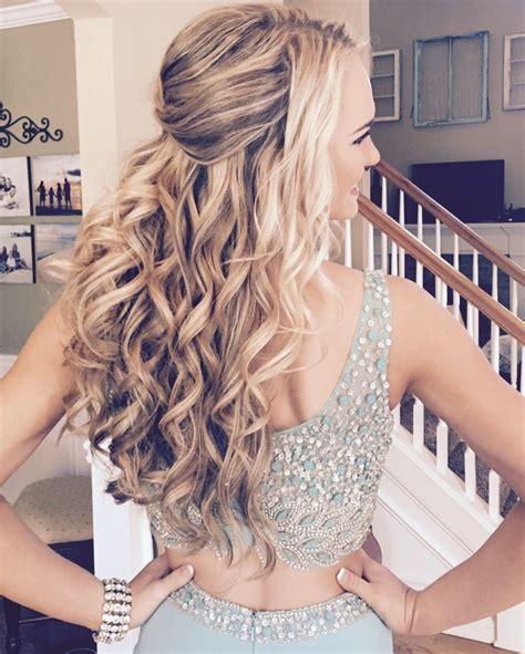 ideas  prom hairstyles   pinterest
