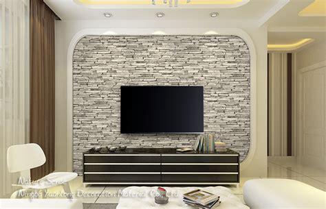 cm nature sense white vinyl  wallpaper brick stone