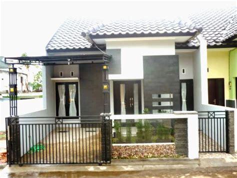 model pagar rumah minimalis  desain rumah minimalis