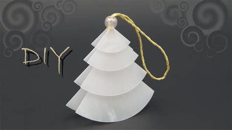 weihnachten basteln papier basteln mit papier zu weihnachten einfachen tannenbaum falten diy