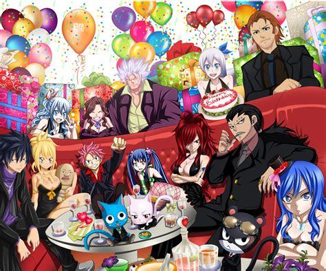 Anime Birthday Wallpaper - collab happy birthday hiro mashima by