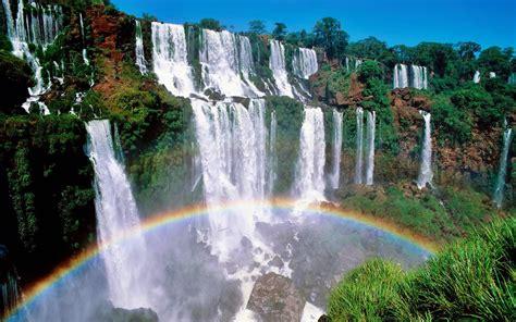 Waterfall Picture Desktop by Beautiful Scenic Waterfall Hd Wallpaper Wallpapersqu