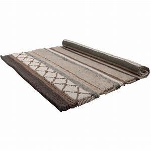 tapis andrea marron et beige 200x300 cm koya design With tapis beige marron