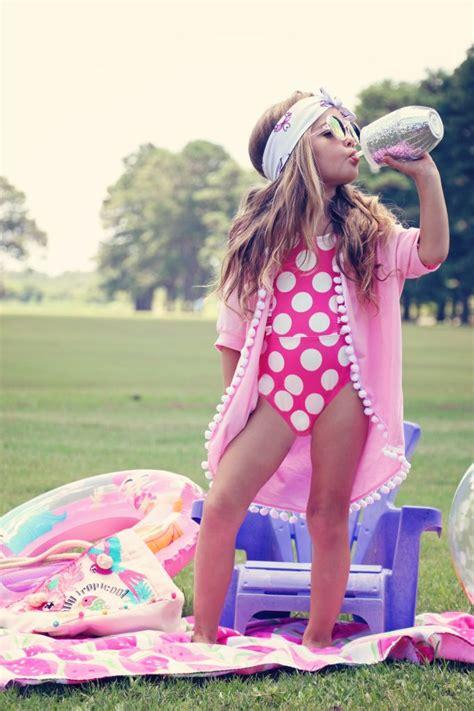 beachwear summer style swimsuit coverup kids clothing