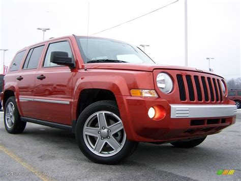orange jeep patriot 2008 sunburst orange pearl jeep patriot limited 4x4