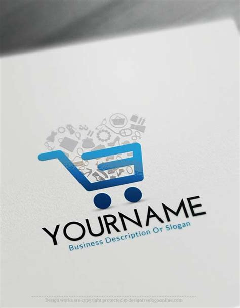 logo maker  commerce cart logo maker