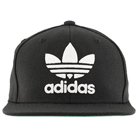 Adidas Menu0026#39;s originals snapback flatbrim cap Black/White One Size Apparel Accessories Clothing ...