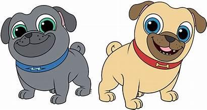 Pals Puppy Dog Clipart Bingo Rolly Disney