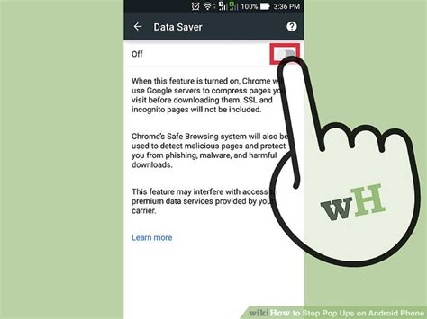5 ways to stop pop ups on android phone wikihow