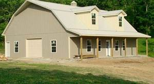 40x50 gambrel barn with loft quonset hut homes steel With 40x50 pole barn