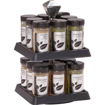 Kamenstein 16 Jar Spice Rack by Kamenstein 16 Jar Ii Spice Rack Walmart