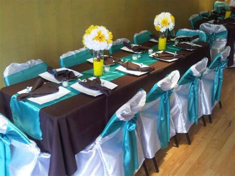 32 best images about blue and brown wedding decor on blue and turquoise and themed