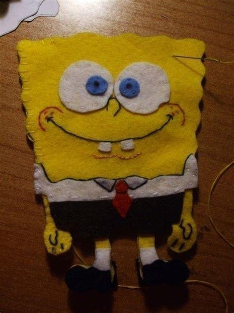 spongebob plushie  cartoon plushie sewing  cut