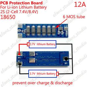Lithium Lipo Battery Bms Ion Protection