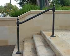Outdoor Metal Handrails For Stairs by Wrought Iron Outdoor Hand Railings Hollis Park Hand Rails Cast Iron Work