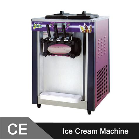 table top ice machine 18 20l h table top soft ice cream machine with free