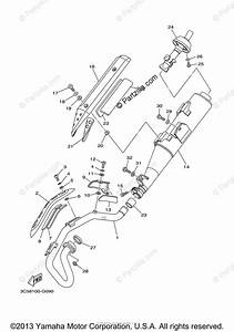 Yamaha Motorcycle 2008 Oem Parts Diagram For Exhaust