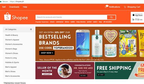 Shopee - PH's First Mobile Commerce Platform Expands Free ...