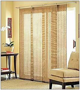 Homeofficedecoration sliding door blinds ideas for Sliding patio door blinds ideas