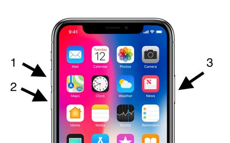 how to reset iphone with buttons how to reset iphone x in 3 easy steps