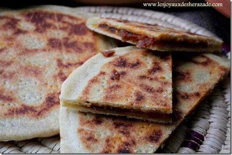 recette cuisine orientale galette kabyle recette de kesra farcie recette