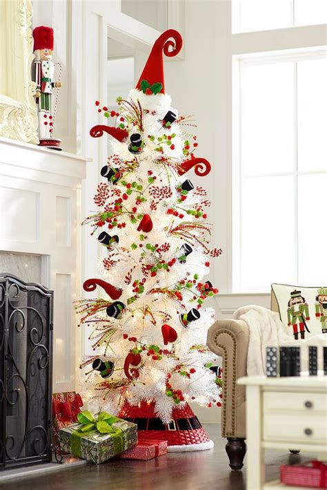 awesome white christmas tree designs