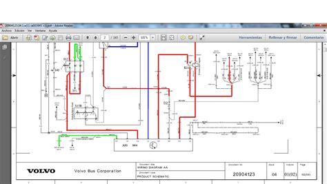 wiring diagram volvo bus b7 b9 b12 mhh auto page 1