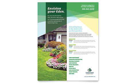 home maintenance flyers templates designs